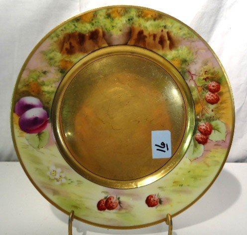 "16: Pickard Plate ""Deserted Garden"""