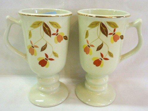 1: Pr.Halls Tea Leaf Irish Coffee Mugs