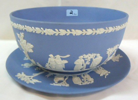2: Wedgwood Bowl and Underplate