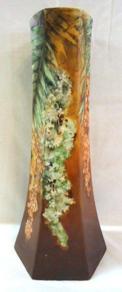 9: 1908 H.P. Belleek Vase