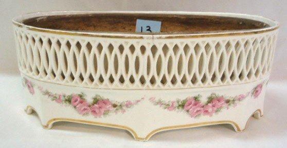 13: H.P. Ferner w/ Porcelain Liner