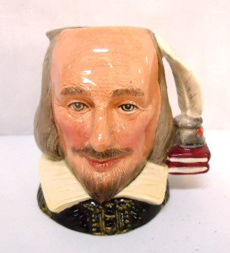 "16: Royal Doulton Toby, ""Shakespeare"""
