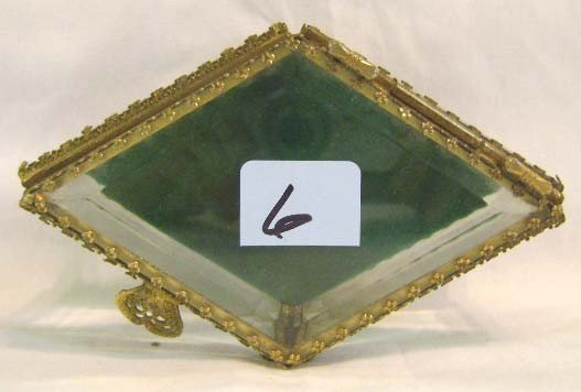 6: Beveled Glass Jewelry Box