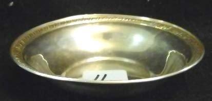 11: Sterling Silver Bowl