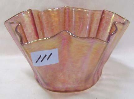 111: Tiffany Handkerchief Vase