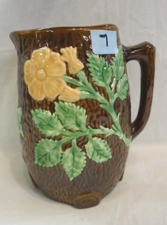 7: Majolica Pitcher