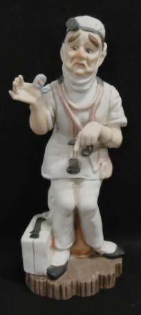 8: Lefton Figurine of Doctor