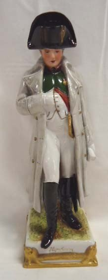 46: German Porcelain Figure Napoleon of Napoleon & His