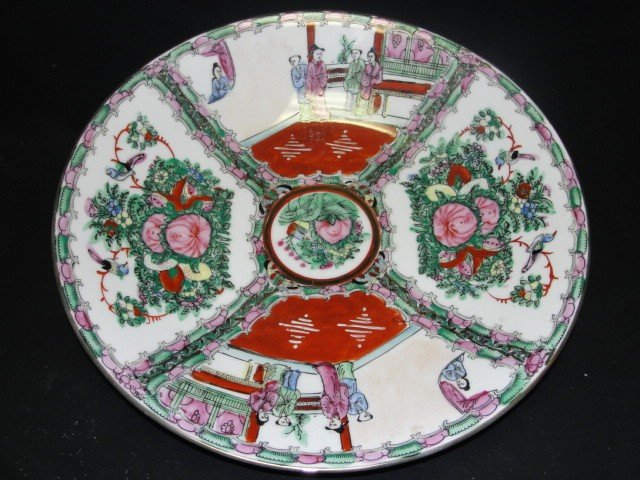 5: Oriental Style Late 20th. C. Imari Low Bowl