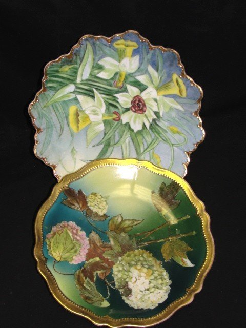 16: Royal Austria And Bavaria Hand Painted Plates