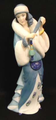 """15: Lenox Figure, """"Rhapsody in Blue"""""""