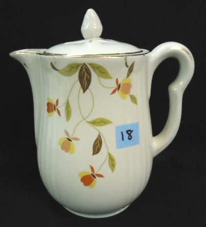18: Hall's Tea Leaf Coffee Pot