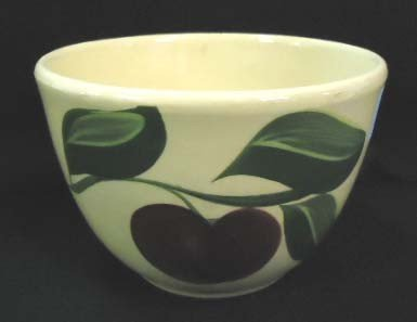 19: Watt's Pottery Bowl, Apple