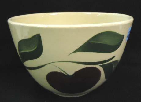 20: Watt's Pottery Bowl, Apple