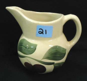 21: Watt's Pottery Pitcher, Apple