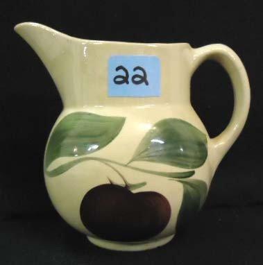 22: Watt's Pottery Pitcher, Apple