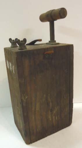 107: Blasting Machine Detonator Schneider Brothers