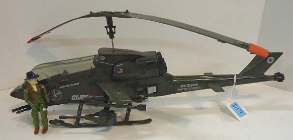 217: GI Joe Dragonfly Helicopter w/ Wild Bill
