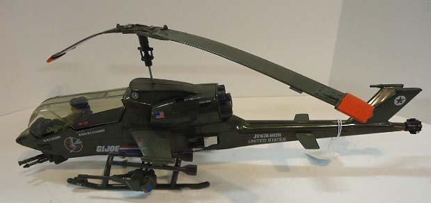 217: GI Joe Dragonfly Helicopter w/ Wild Bill - 3