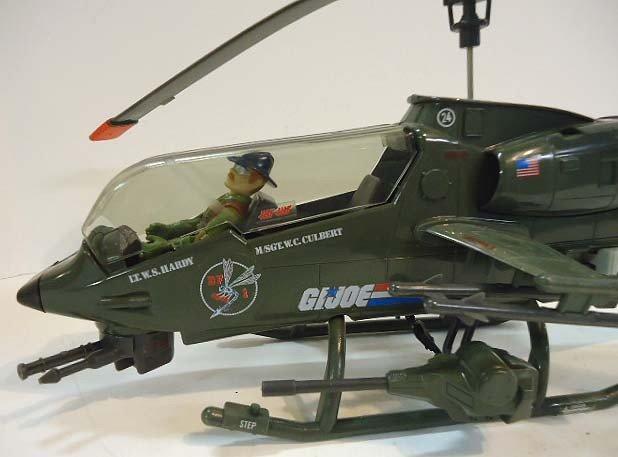 217: GI Joe Dragonfly Helicopter w/ Wild Bill - 4