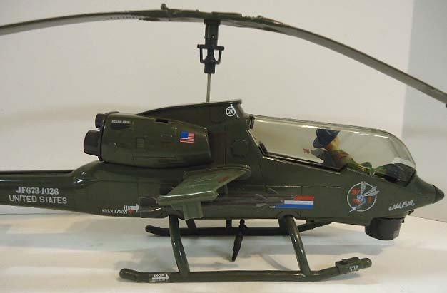 217: GI Joe Dragonfly Helicopter w/ Wild Bill - 8