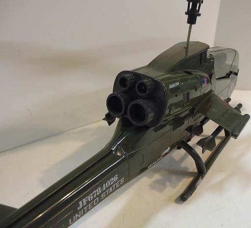 217: GI Joe Dragonfly Helicopter w/ Wild Bill - 9
