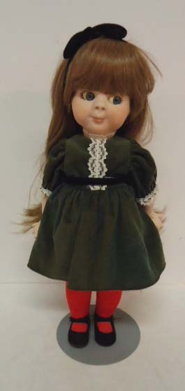 "9: Marjorie Spangler Doll, ""Gumdrop"""