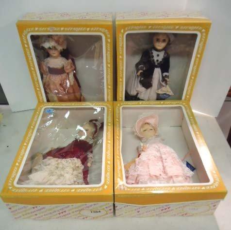15: 4 Effanbee Dolls: Gramercy Park 1554, Blue Bayou 15