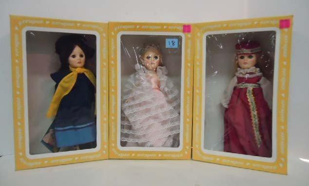 18: 3 Effanbee Dolls: Cinderella 1176, Mary Poppins 119