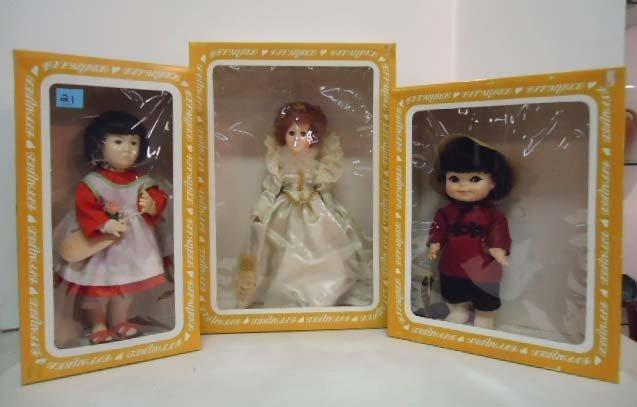 21: 3 Effanbee Dolls: Orange Blossom 750, Fortune Cooki