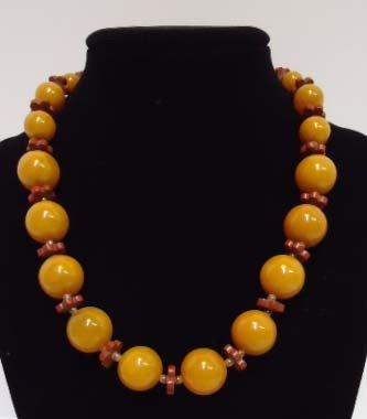 6: Catalin Bakelite Necklace
