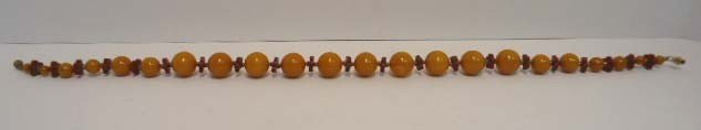 6: Catalin Bakelite Necklace - 4
