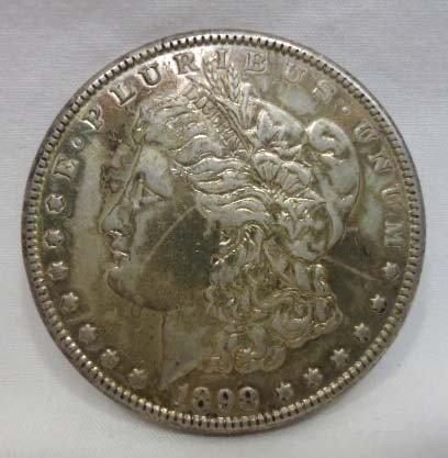 16: 1898 Morgan Silver Dollar