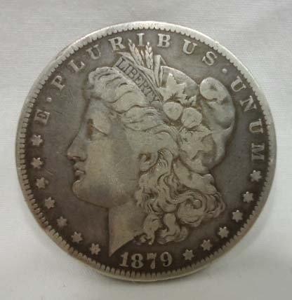 19: 1879 Morgan Silver Dollar
