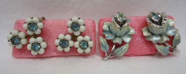 23: Huge Coro Floral Jewelry Lot - 4