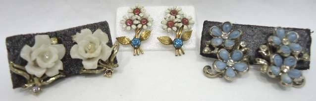 23: Huge Coro Floral Jewelry Lot - 7