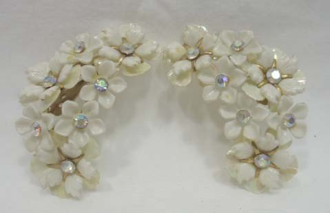 23: Huge Coro Floral Jewelry Lot - 8