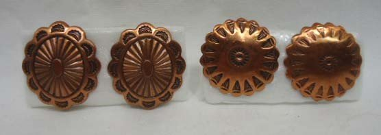 24: 14 Pc. Copper Indian Theme Jewelry - 7