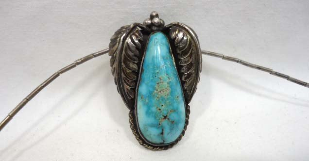 75: 8 Pc. Turquoise Jewelry Lot - 3
