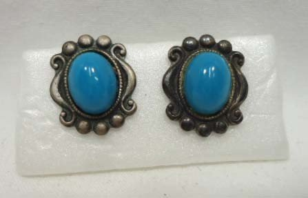75: 8 Pc. Turquoise Jewelry Lot - 6