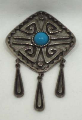 75: 8 Pc. Turquoise Jewelry Lot - 7