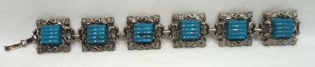 75: 8 Pc. Turquoise Jewelry Lot - 8