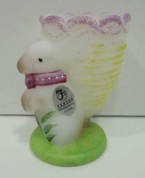18: Fenton Bunny Egg Cup