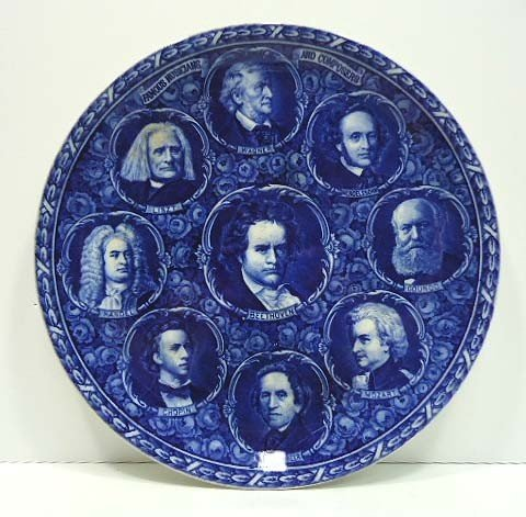8: Rowland & Marsellus Composers Plate