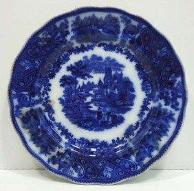 """Flow Blue Plate """"Non Pareil"""""""