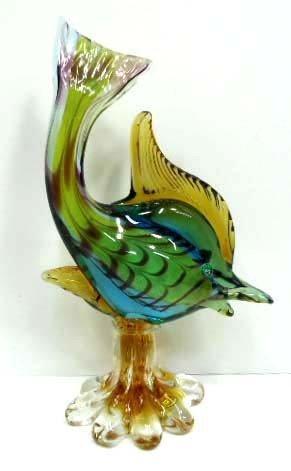 1: Murano Glass Fish