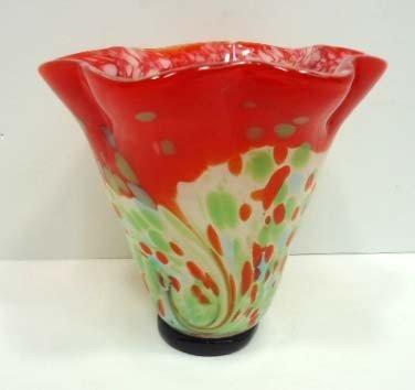 2: Murano Glass Vase