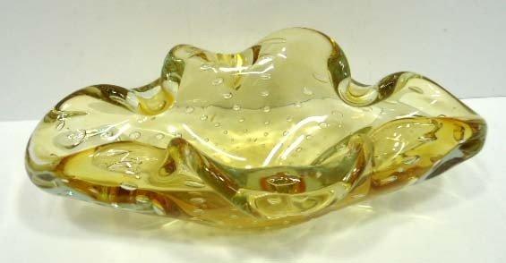 6: Murano Glass Bowl