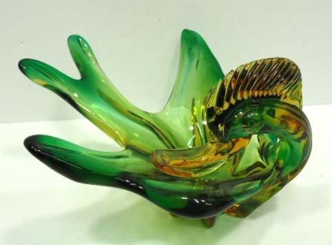 9: Murano Glass Duck Bowl