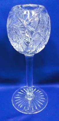 14: Cut Glass Wine Glass